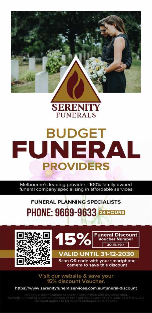 Budget Funeral Providers Melbourne Flyer