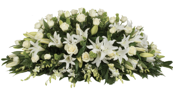 Serenity-Double-Ended-Medium-Size-White-Roses-and-Lilies-1024x536